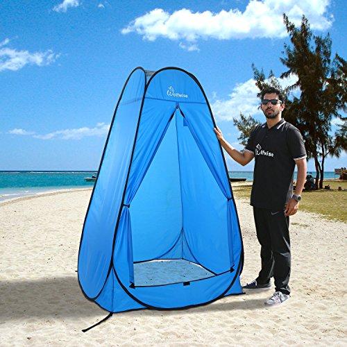 Wolfwise tenda istantanea pop up privato portabile per - Camping bagno privato ...