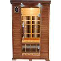 Sauna infrarouge LUXE 2 (2 places)