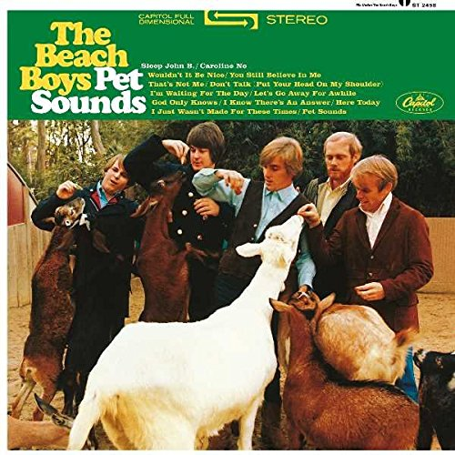 Pet Sounds (Stereo 180g Vinyl Reissue) [Vinyl LP] Red Stereo
