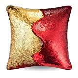 #7: Go Hooked Pillow Case, Reversible Sequin Pillow Cover Throw Cushion Case 16