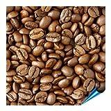 Fliesenaufkleber für Bad und Küche - 15x15 cm - Motiv Kaffeebohnen - 10 Fliesensticker für Wandfliesen