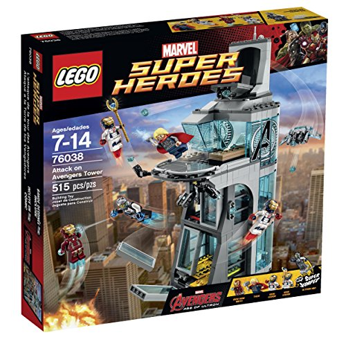 LEGO Super Heroes Attack on Avengers Tower 76038 by LEGO