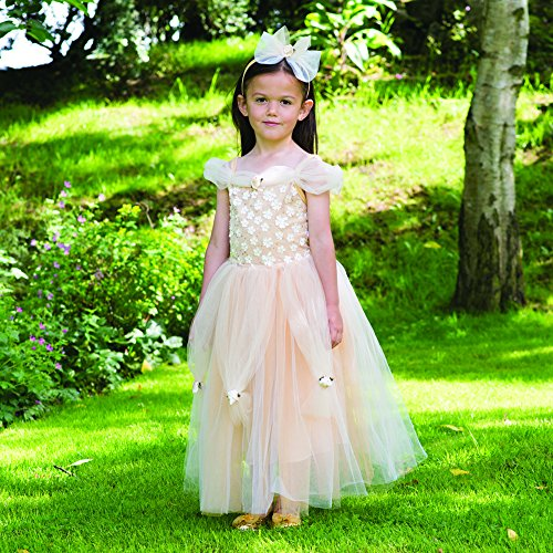 Costume Golden Princess gold - 3 à 5 ans