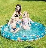 Babypool Planschbecken Badespaß für Babys Schwimmbad für Kleinkinder Pool Planschbecken...