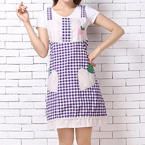 JRFBA-Tablier tablier, version coréenne, pur coton tablier, han style taille, cuisine, tablier de cuisine, anti - pollution coton tablier,c