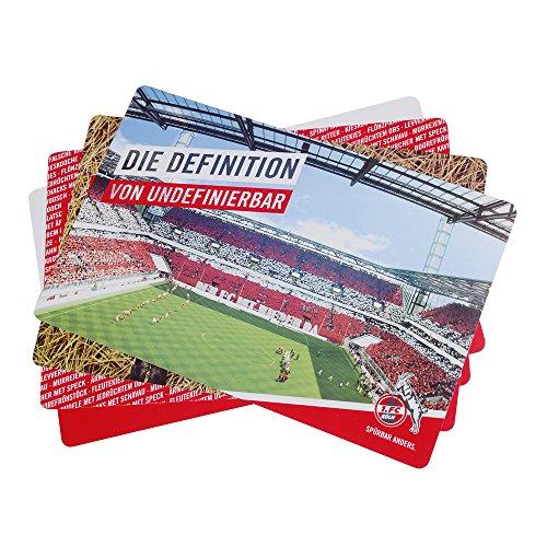 Platz-Sets 4er Set 1. FC Köln Set 4 Plätze