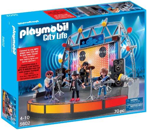 PLAYMOBIL 5602 Pop Stars Stage Bühne USA Set