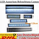 30cm-120cm LED Aquarium Beleuchtung Lampe Aufsetzleuchte Abdeckung Klemmleuchte (120CM)