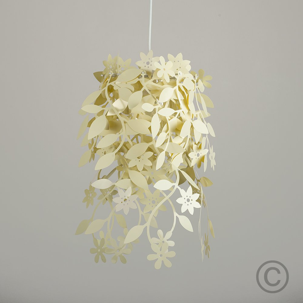 Beautiful white floral flowers and leaves dropping chandelier beautiful white floral flowers and leaves dropping chandelier ceiling pendant light shade amazon lighting arubaitofo Images