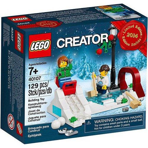 Preisvergleich Produktbild Lego 40107 Weihnachtsset - Limitierte Edition 2014