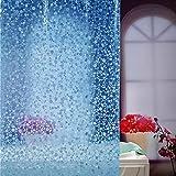 Best Now Designs shower curtain - Adwaita Premium Cobblestone 100% EVA 3D Plastic No Review
