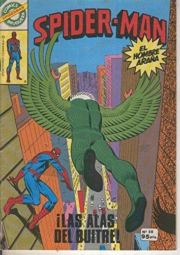 Comics Bruguera: Spiderman numero 58 (numerado 1 en trasera)
