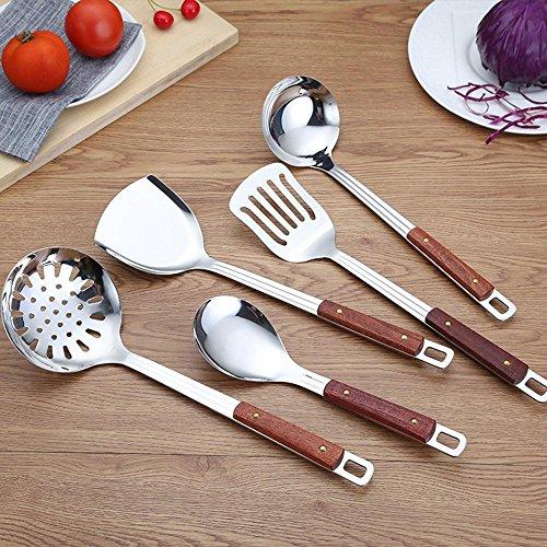 Aoligei Tirador acero inoxidable utensilios cocina