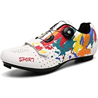 Scarpe da Ciclismo da Uomo Donna Scarpe Bici da Corsa Scarpe Ciclismo Strada Traspirante Anti-Scivolo Scarpe da Bici per…