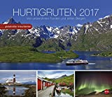 Hurtigruten - Globetrotter Kreuzfahrten - Kalender 2017 - Von unberührten Fjorden und stillen Bergen - Heye-Verlag - Wandkalender - 45 cm x 39 cm