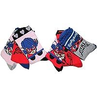 Miraculous Ladybug, Marinette Dupain-Cheng, Girl Power Socks in confezione da 6 per ragazze