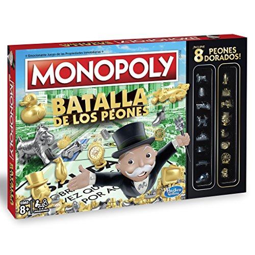 Monopoly - Batalla de los peones Hasbro C0087105