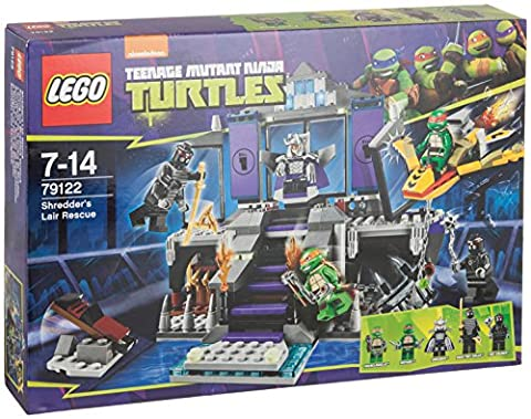 Lego Turtles 79122 Shredders Lair Rescue