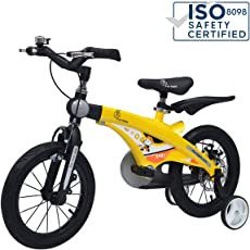 R for Rabbit Tiny Toes Jazz Bicycle for Kids - The Smart Plug and Play Kids Cycle (16 inch/T - for Kids 4 Years to 7 Years)