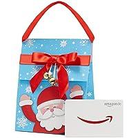Amazon.de Geschenkkarte in Geschenktasche (Weihnachtsmann)