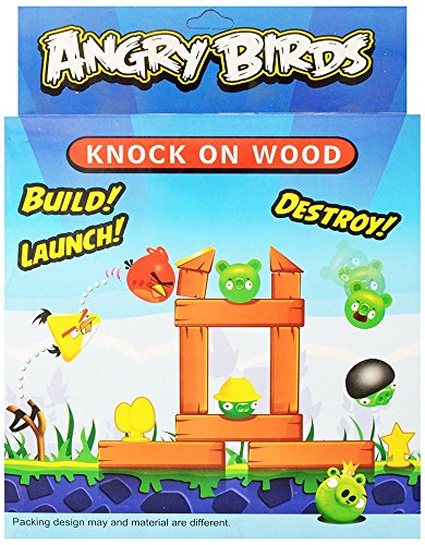 "Vibgyor Vibesâ""¢ Angry Birds Knock on Wood Fun Toy"