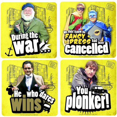4 x Only Fools and Horses Coasters Set