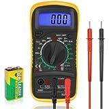 Digital Multimeters Car Battery Circuit Multi Tester Voltmeter Ammeter Ohmmeter AC/DC Voltage DC Current Resistance…