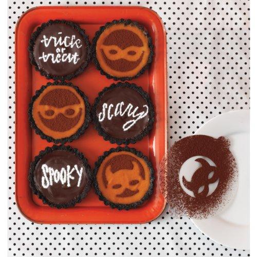 Cupcake Stencils-Animal Masquerade 8/Pkg -