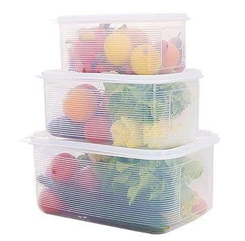 Super TenYid Plastikbox Groß, Luftdichte Box Aufbewahrungsbox mit Deckel  YP78