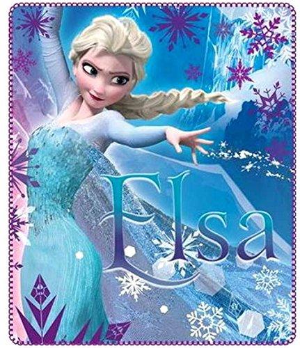 Disney Kuscheldecke 120x140 cm Frozen die Eiskönigin Snowflake völlig unverfroren Decke...
