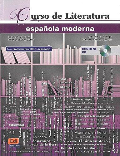 Curso de Literatura española moderna + CD + ELEteca Access par Laura Díaz López