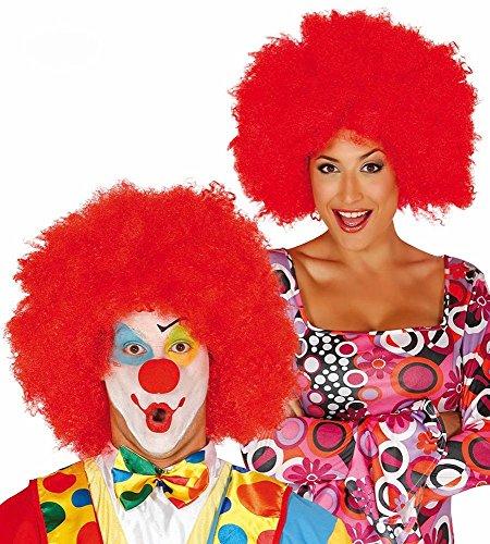shoperama Große Afro-Perücke für Damen und Herren Locken Hippie Clown , Farbe: ()