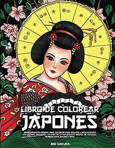 Libro de colorear japonés: ¡Impresionantes