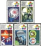 Prophila Collection DDR 1862-1866 (kompl.Ausg.) 1973 Weltfestspiele der Jugend (II) (Briefmarken für Sammler)