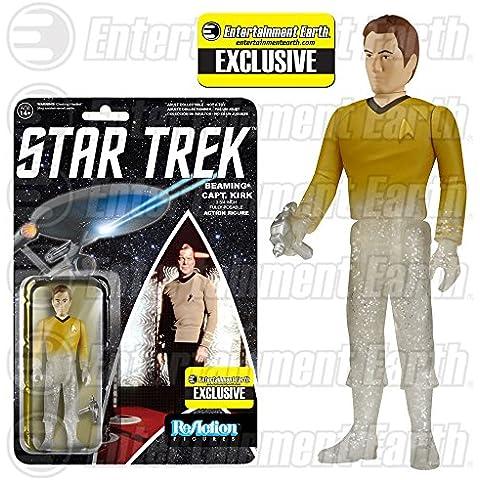 Star Trek ReAction Action Figure Figura Phasing Captain Kirk 10 cm Funko