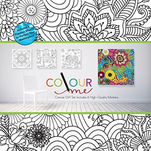 robert-frederick-motif-floral-couleur-votre-propre-toile-assortis
