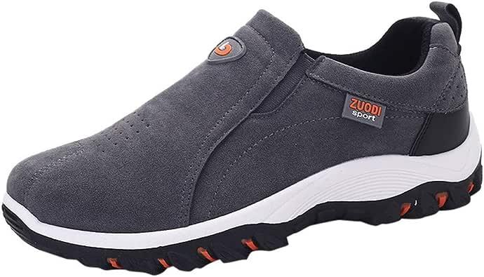 Geili Herren Sneaker Outdoor Slip On Hiking Schuhe /Übergr/ö/ßen Rutschfest Wanderschuhe M/änner Freizeit Flache Turnschuhe Pumps Laufschuhe Sportschuhe Hausschuhe