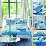 Designers Guild 3359100000000 - Artículo Textil del hogar, 260 x 240, Color Azul