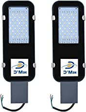 DMT 30-Watt Waterproof LED Street Light (2 Years Warranty, IP65) Outdoor Light / Industrial Light - Pack of 2