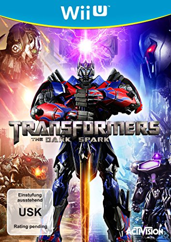 Transformers - The Dark Spark - [Nintendo Wii U] (Wii U-transformers)