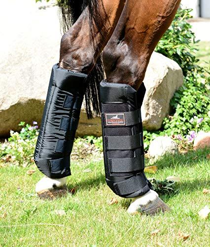 VITANDAR Therapeutische Stallgamaschen für Pferde mit Infraroteffekt, Classic, 1 Paar, hinten, Gr. L
