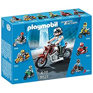 Playmobil 5527 Sports and Action Muscle Motorbike