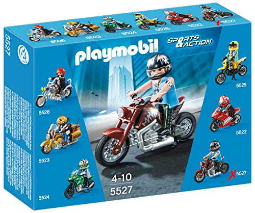 Playmobil Coleccionables - Moto Custom