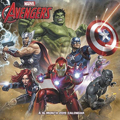 Marvel's Avengers Assemble Wall Calendar (2019)