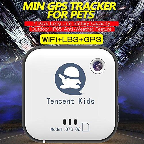 Tencent - Localizador para niños con rastreador GPS para niños, ancianos, mascotas, perros, coches de seguridad para equipaje en viajes