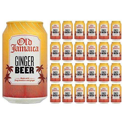 Antiguo Jamaica Ginger Beer 330ml (paquete de 24 x 330 ml) width=