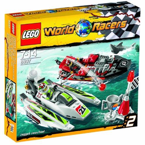 Preisvergleich Produktbild Lego World Racers 8897 - Entscheidung am Haifisch-Riff