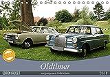 Oldtimer vergangenger Jahrzehnte (Tischkalender 2018 DIN A5 quer): Der Kalender zeigt eine bunte Vielfalt von Aufnahmen der Automobile der vergangenen ... [Kalender] [Apr 04, 2017] Bagunk, Anja
