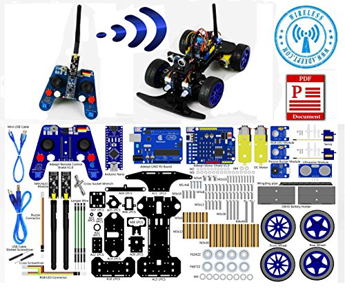 Adeept smart car kit for arduino remote control based