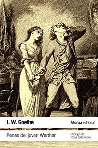 Penas del joven Werther par Johann Wolfgang Goethe